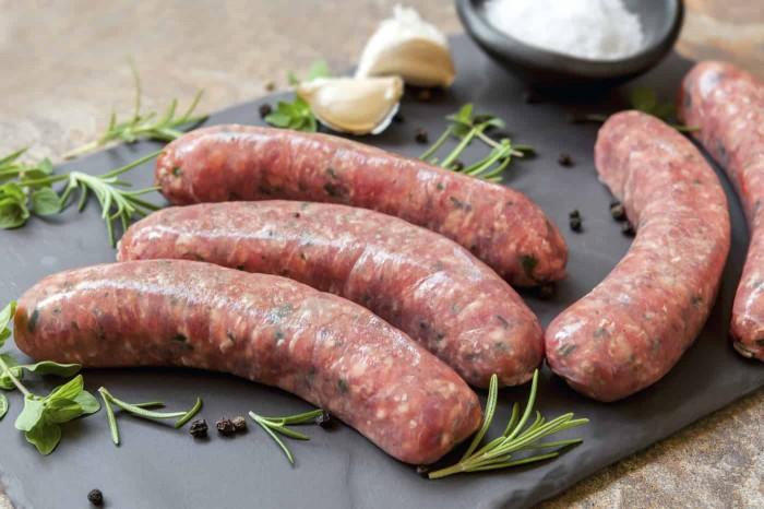 header sausages